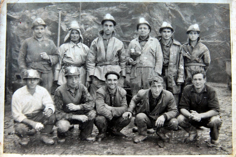 Traballadores de Mina Piquito