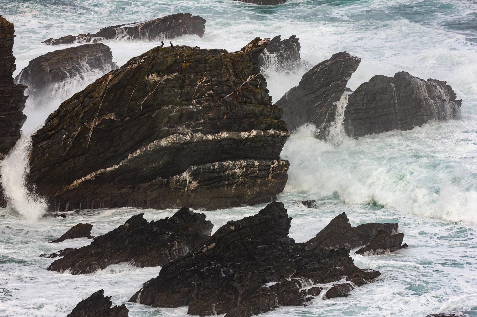 Rochas formadas pola compactacion de sedimentos