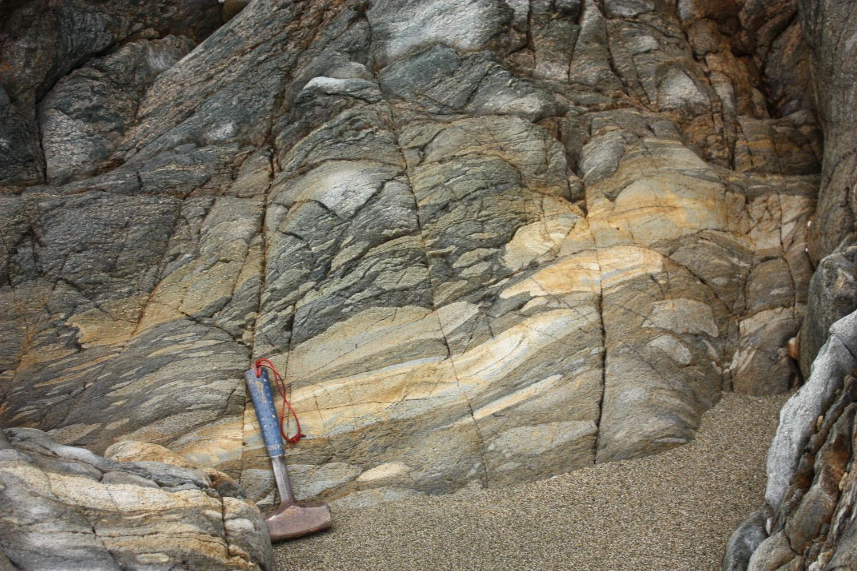 Lavas almofadadas da praia da Concha (Espasante)