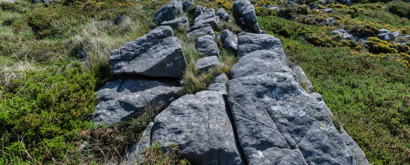 Ecloxitas na zona do Couce do Penido, declarado recentemente como Geosite polo IGME