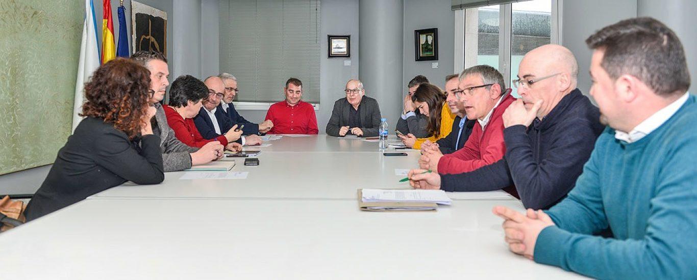 A xuntanza celebrouse na sede da Deputación