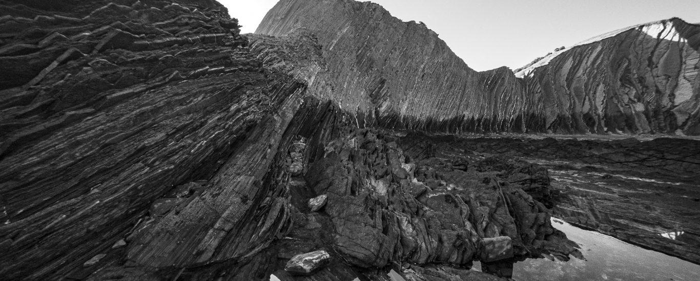 O Xeoparque da Costa Vasca ten nas formacións de