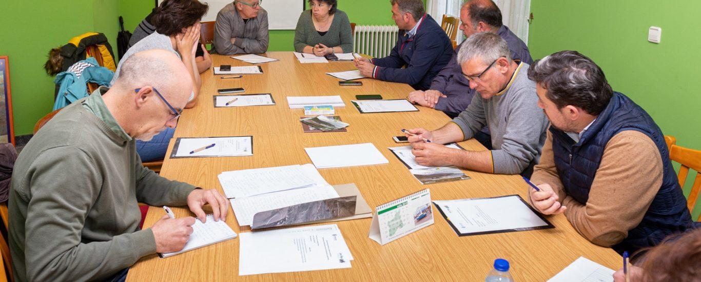 A xuntanza de rexedores desenvolveuse no Concello de Moeche