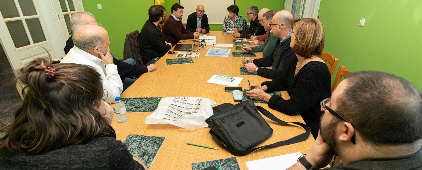 Xuntanza dos sete municipios celebrada o pasado mes de febreiro