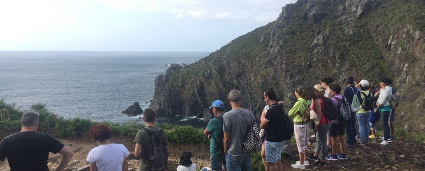 Xeorruta por Punta Sarridal